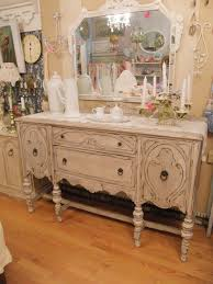 shabby chic antique buffet french gray u0026 white distressed eclectic
