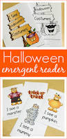 printable halloween emergent reader