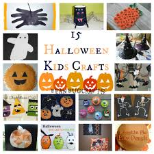 beanbugcrafts 15 halloween kid crafts