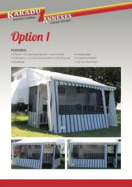 Awning Walls Roll Out Awning Walls Range Kakadu Annexes