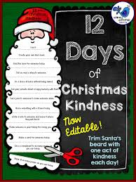 christmas kindness fun activities activities and students