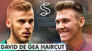 short hair side part david de gea quiff hairstyle men u0027s