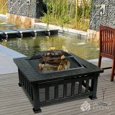 wood burning fire table online shopping wood burning fire tables at outdoor living inc