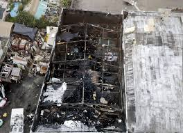 sheriff warehouse fire probe focused in area full of appliances
