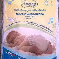 cuscino antisoffoco cuscino antisoffoco per culla lettino nancy baby riposo forato