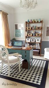 office and craft space reveal diy beautify