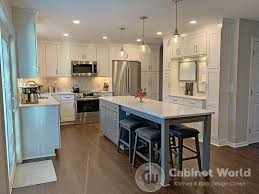 kitchen remodels with white cabinets modern kitchen remodel by mohney cabinet world of pa