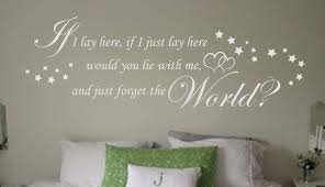 snow patrol if i lay here wall art decal wall art decal snow patrol if i lay here wall art decal if i just lay here wall