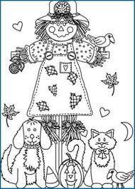 fall coloring pages printable stable autumn kids fall printables