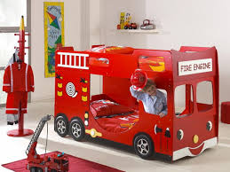 Cars Bunk Beds Contemporary Bedroom Decor With Boys Car Bunk Beds