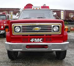 1985 chevrolet kodiak custom deluxe pumper fire truck item