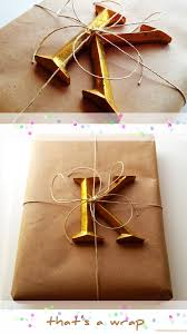 paper wrap 10 beautiful diy brown paper wrapping ideas