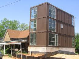 Affordable student housing in the form of … shipping containers