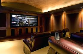 dark wood paneling dark wood paneling ambiance lighting home theater traditional with