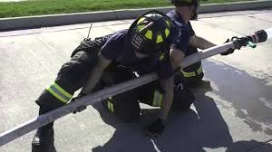 adams county fire rescue hose management 2 1 2 inch youtube