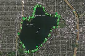 seattle map green lake free apps and maps for walking tours of seattle greater