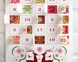 advent calendar modern advent calendar printable pdf calendar printable advent