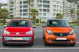 volkswagen up 5 door comparative review volkswagen cross up vs smart forfour cars co za