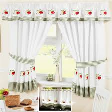 Kitchen Curtains Ebay Fruit Colourful Green Voile Cafe Net Curtain Panel Kitchen