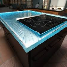 Glass Kitchen Countertops Home Decor Extraordinary Glass Countertop Images Design Ideas