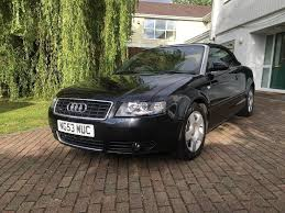 2004 audi a4 convertible quattro 1 8 turbo black full service