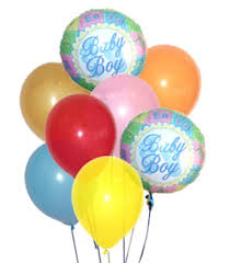 balloon delivery ta new baby flowers florist one