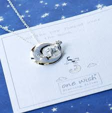 the cow jumped over the moon nursery rhyme necklace by grace