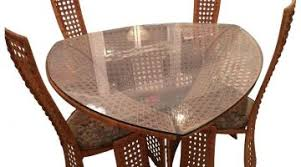 Bamboo Dining Table Set Enjoyable Bamboo Dining Room Chairs Furniture Design Image