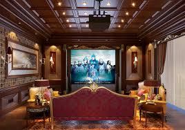 home theater interior design with wooden ceiling download 3d house
