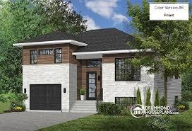 split level garage house plan w3490 detail from drummondhouseplans