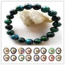 black bead bracelet ebay images Tiger eye bracelet ebay JPG