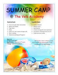 Speech Garden Summer Camp - the vels academy added a new photo the vels academy facebook