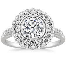 engagement rings vintage style antique vintage style engagement rings brilliant earth