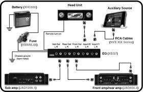 nvx xeq7 1 2 din 7 band equalizer w 2 aux input sub control