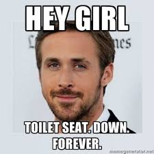 Toilet Seat Down Meme - 5 signs he is planning to propose this holiday season wedding