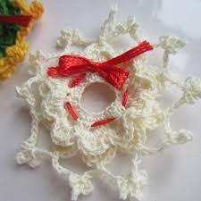 crochet christmas ornaments thread 007 g ma ellen u0027s hands