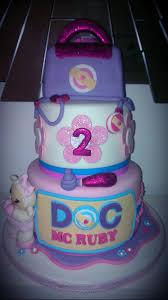 doc mcstuffin birthday cake doc mcstuffins tiered glittery birthday cake flickr