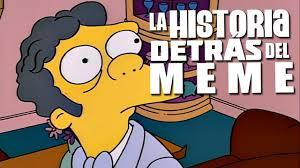 Moe Meme - moe y homero qué haces aquí la historia detrás del meme youtube