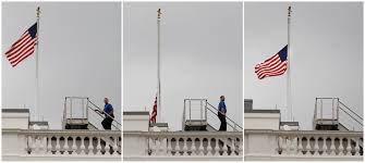 Why Are Flags At Half Mast In Florida Today Flag At Half Staff At White House Abc News Australian