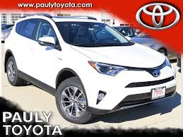 new 2017 toyota rav4 hybrid xle 4d sport utility in crystal lake