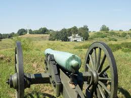 siege canon canon aimed siege of vicksburg mississippi stock image image of