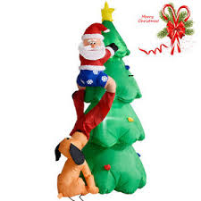 Outdoor Christmas Decorations On Ebay by Christmas Lawn Decorations Ebay