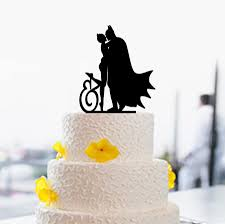 batman wedding cake toppers batman and cake topper custom cake topper wedding cake