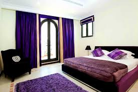 accessories winsome purple black bedroom ideas business home