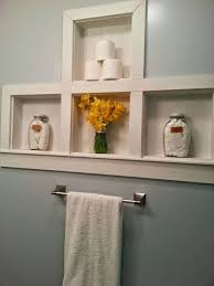 bathroom built in storage ideas bathroom built in shelves between the studs storage adding more