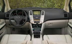 lexus rx 2008 car picker lexus rx interior images