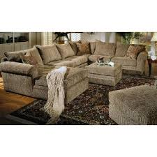 Chenille Sectional Sofas by Home Theater Seats Beige Chenille Fabric Westwood Sectional Sofa