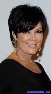kris jenner haircut side view more pics of kris jenner short cut with bangs kris jenner hair