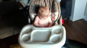 shopping for high chairs and settling on a baby trend from