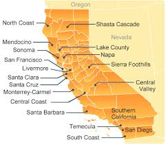 map of oregon wineries map of california wine regions california corks directory of